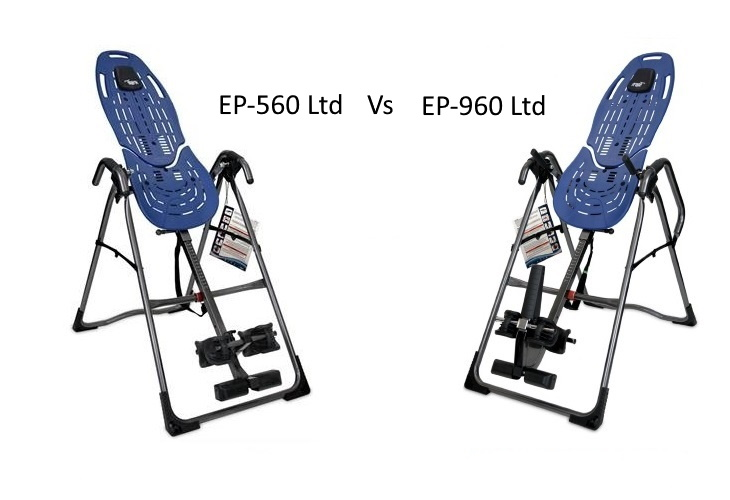 Teeter EP-560 Ltd Vs EP-960 Ltd